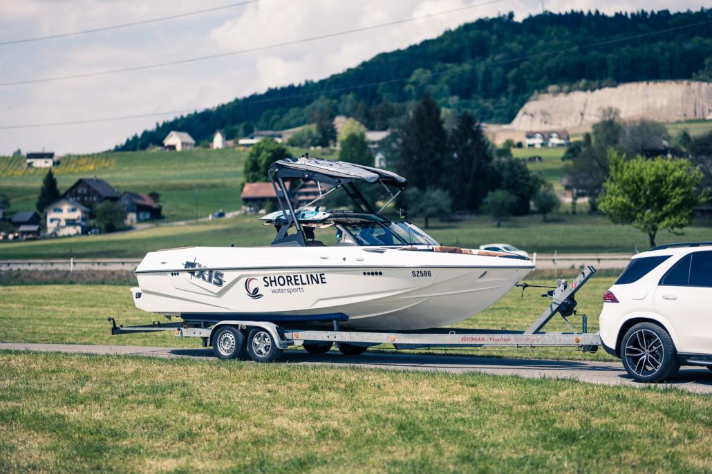Wakesurfen am Zürichsee